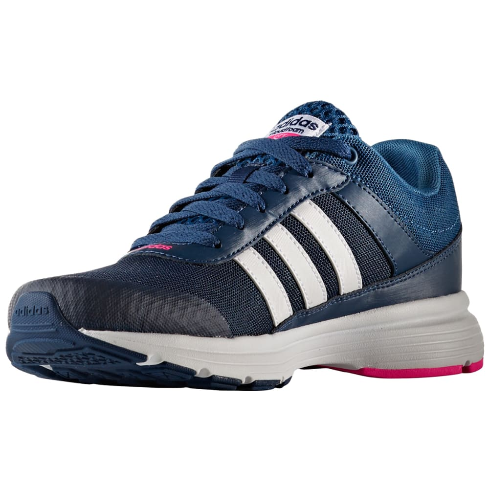 ADIDAS Women's Neo Cloudfoam VS City Running Shoes - NAVY