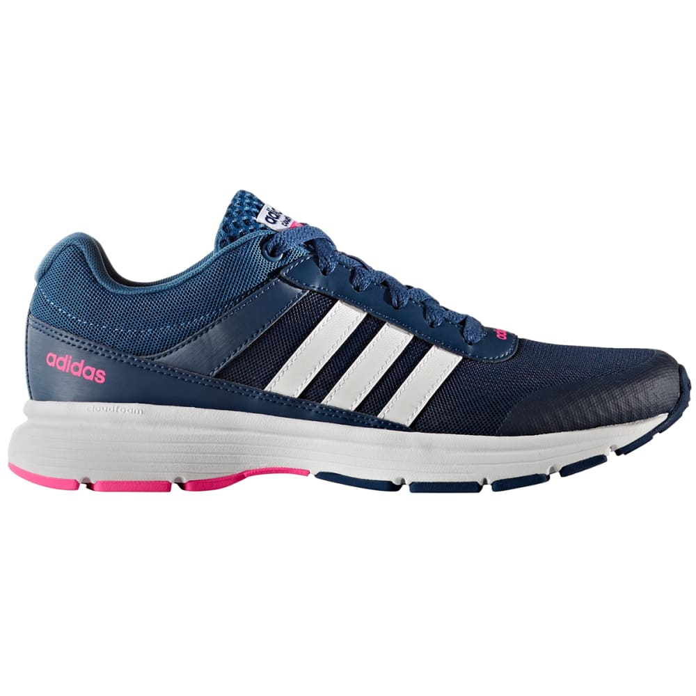 Adidas Women's Neo Cloudfoam Vs City Running Shoes - Blue, 8