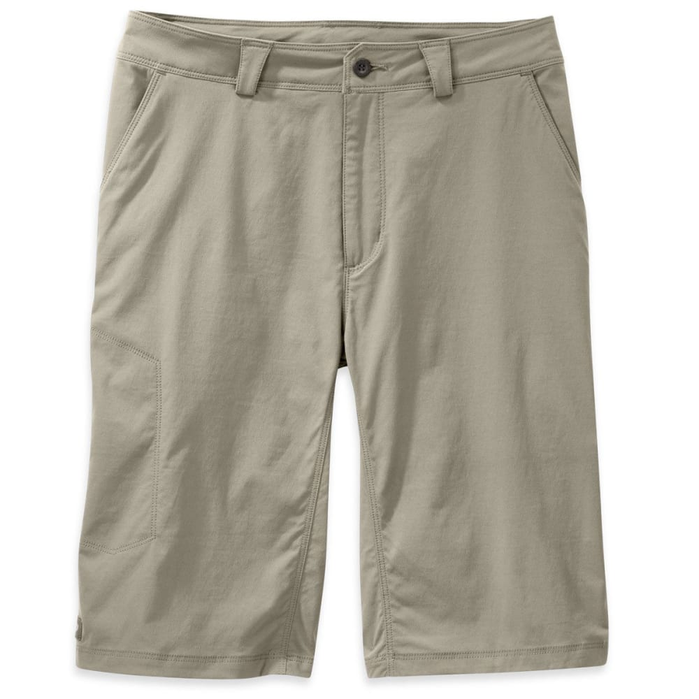 Outdoor Research Men's Equinox Metro Shorts, 12 In. - Brown, 30
