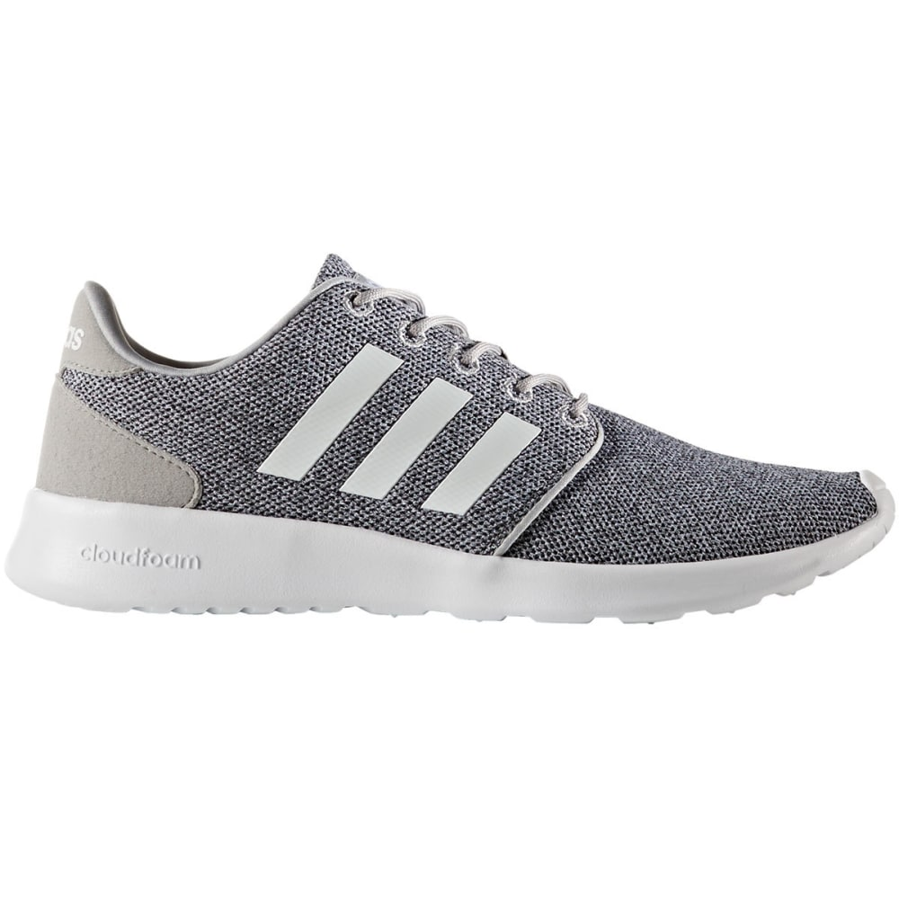 ADIDAS Women's Cloudfoam QT Racer Running Shoes - CHARCOAL
