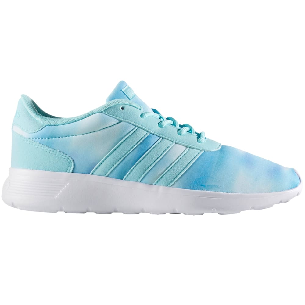 Adidas Women's Lite Racer Clear Running Shoes - Blue, 6