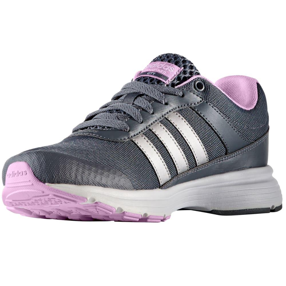 ADIDAS Women's Neo Cloudfoam VS City Running Shoes - CHARCOAL
