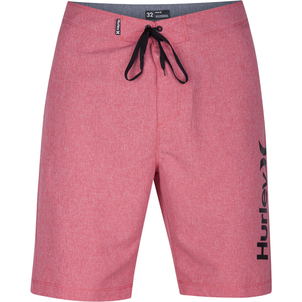 HURLEY Men's One and Only Heather Boardshorts - 6DL-GYM RED610
