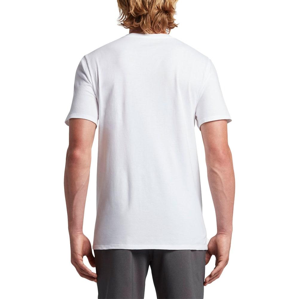 HURLEY Guys' Icon Slash Lagoon Short-Sleeve Tee - 10A-WHITE