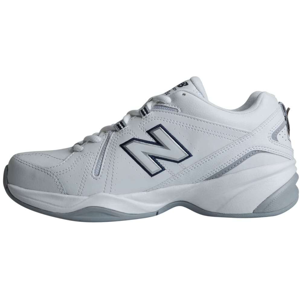 NEW BALANCE Women's 608v4 Sneakers, Wide - WHITE