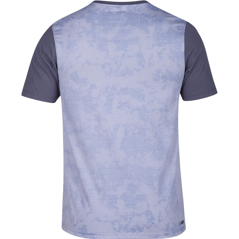 HURLEY Guys' Dri-FIT Lagos Pocket Crewneck Short-Sleeve Tee - 01V-WOLF GREY059