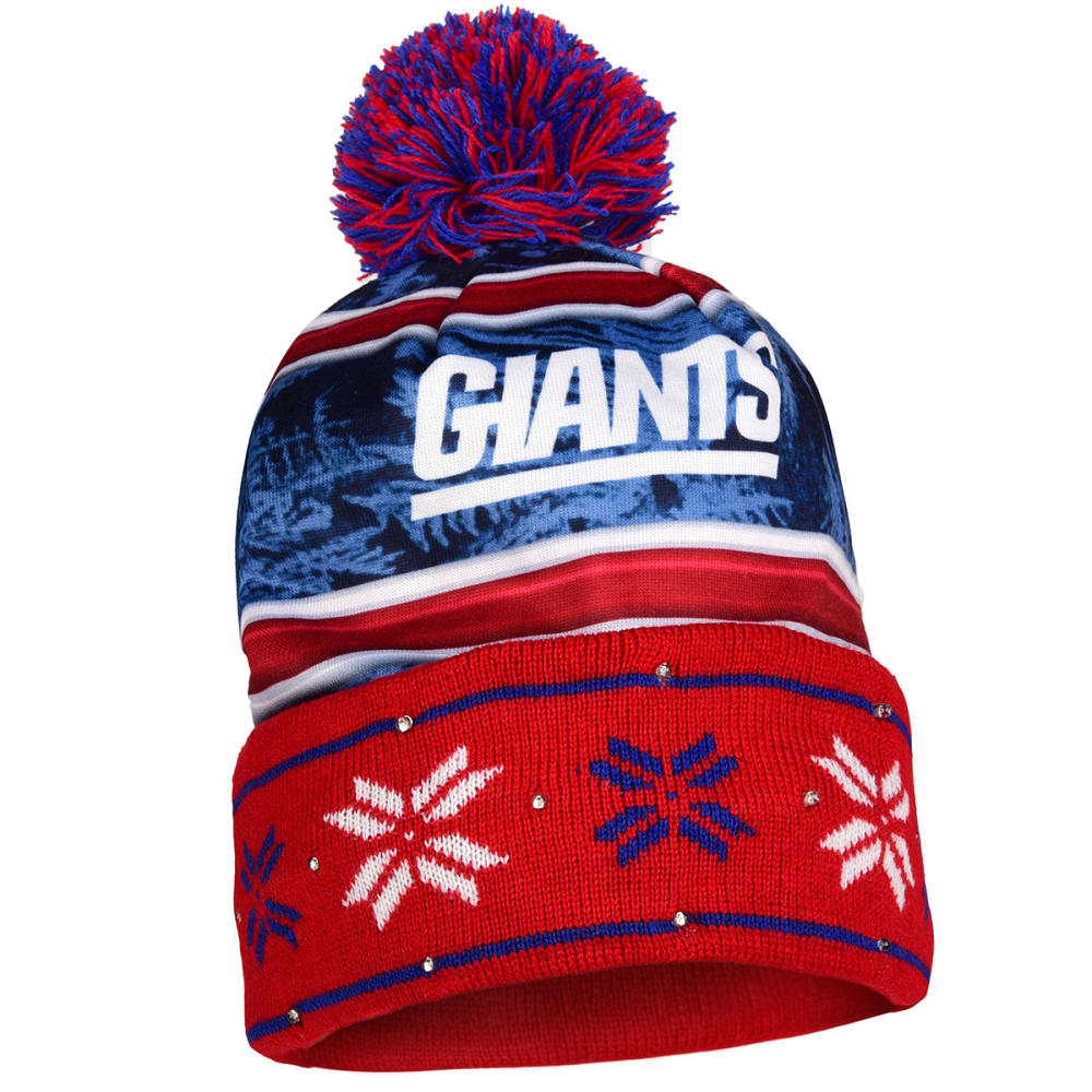 NEW YORK GIANTS Wordmark Light Up Printed Beanie - GIANTS