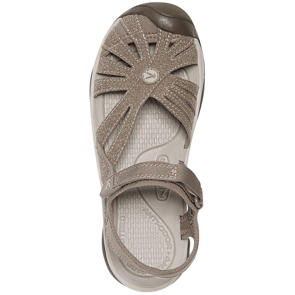 KEEN Women's Rose Sandals, Brindle/Shitake - BRINDLE/SHITAKE