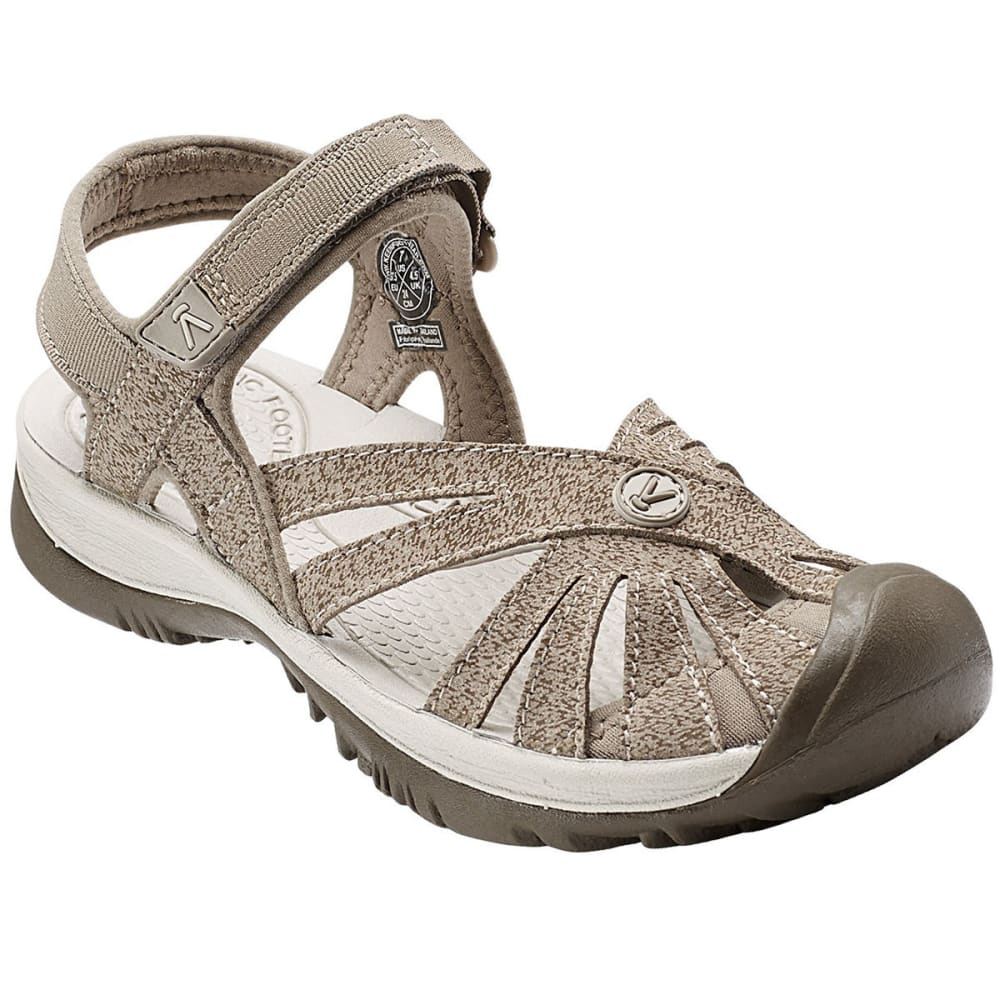 Keen Women's Rose Sandals, Brindle/shitake - Brown, 7.5