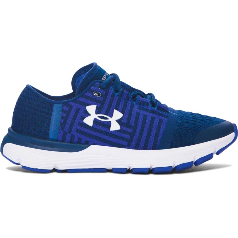 UNDER ARMOUR Women's SpeedForm® Gemini 3 Running Shoes, Blackout Navy 6