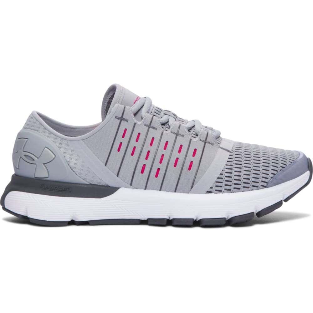 UNDER ARMOUR Women's UA SpeedForm® Europa Running Shoes, Overcast Grey - OVERCAST GRAY