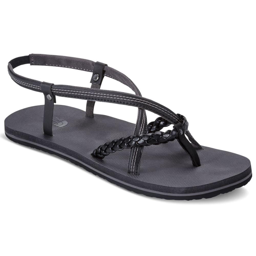 THE NORTH FACE Women's Base Camp Plus Gladiator Sandals, TNF Black/Dark Gull Grey - BLACK