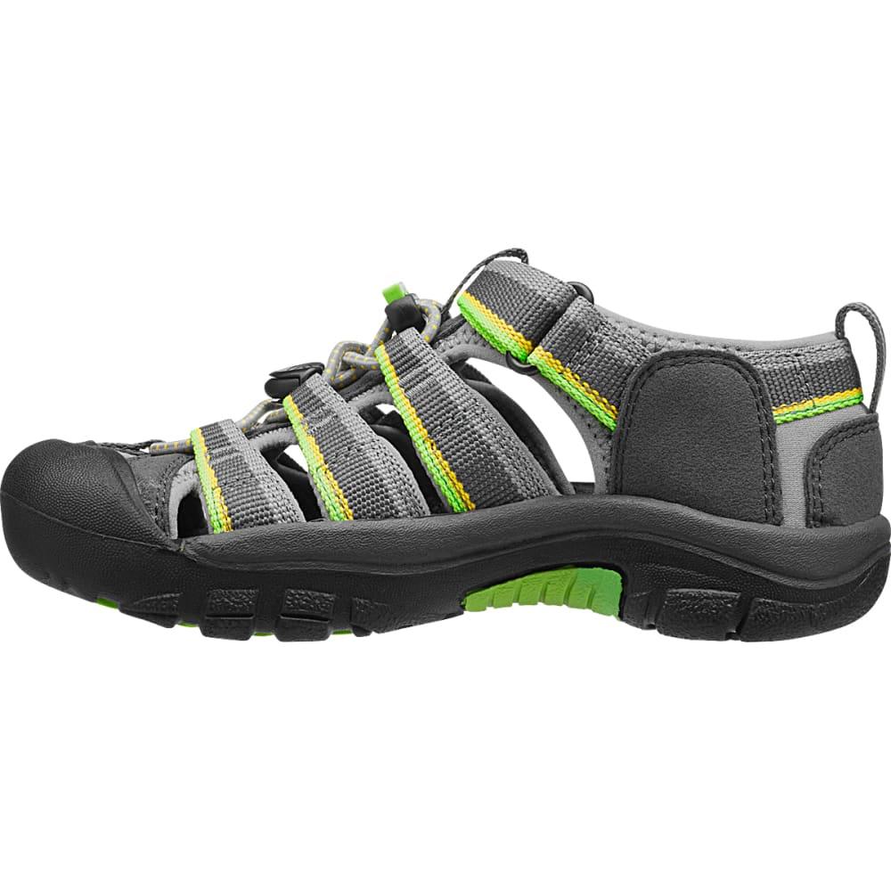 KEEN Boys' Newport H2 Sandals, Racer Grey - GREY - 1014266