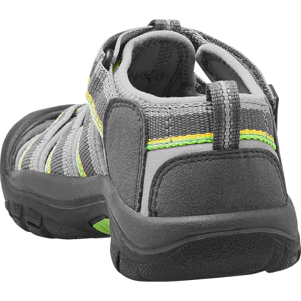 KEEN Boys' Newport H2 Sandals, Racer Grey - GREY - 1014266