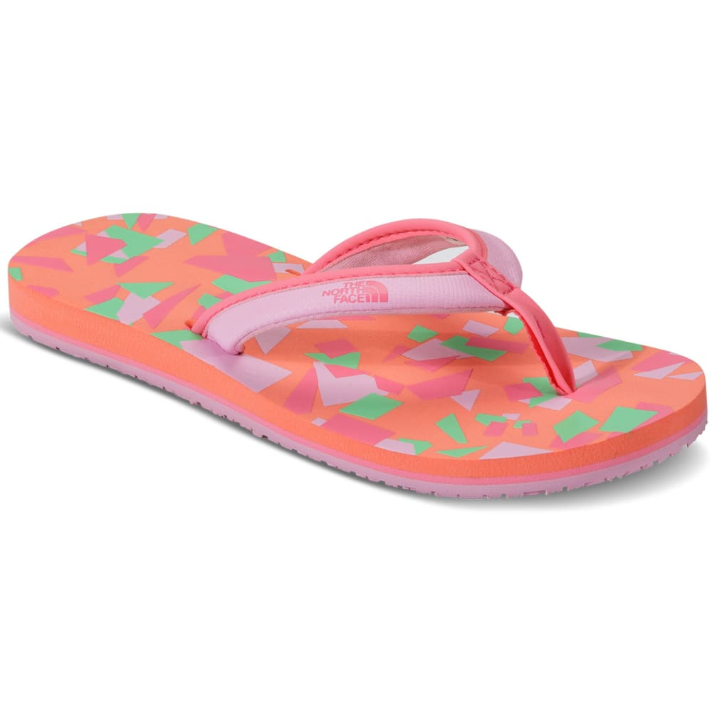 THE NORTH FACE Girl's Base Camp Mini Flip Flops - PINK