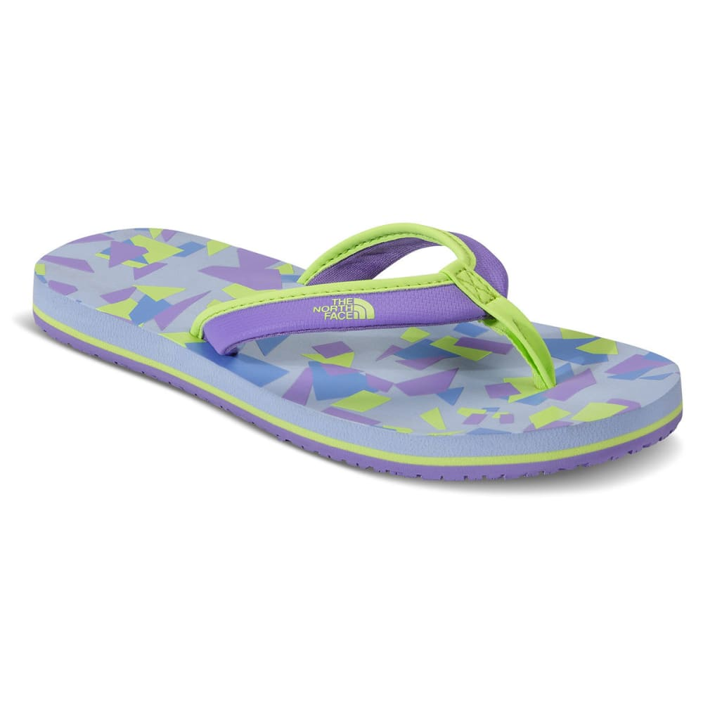 THE NORTH FACE Girls' Base Camp Mini Flip-Flops - PURPLE