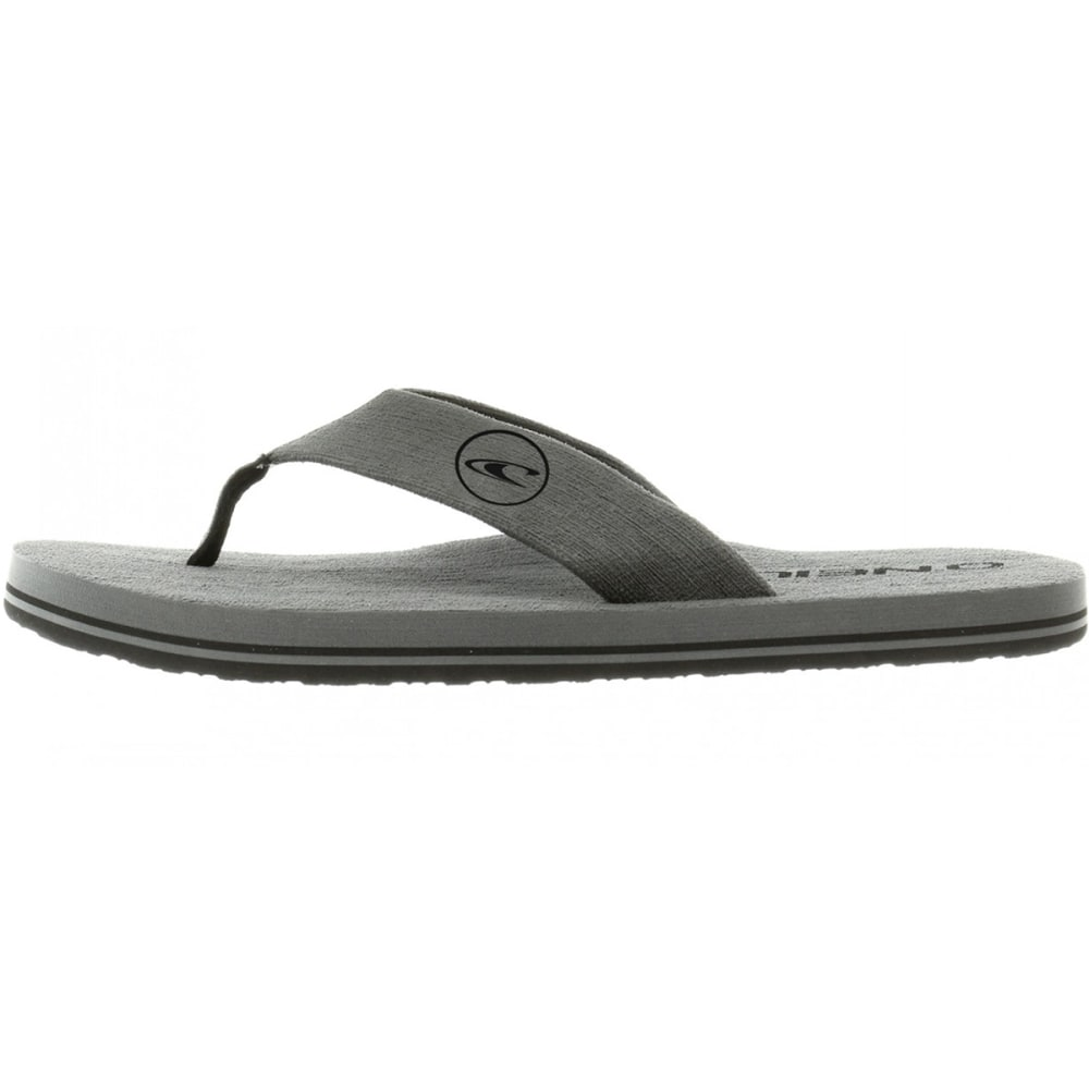 O'NEILL Guys' Phluff Daddy Thong Sandals - GREY