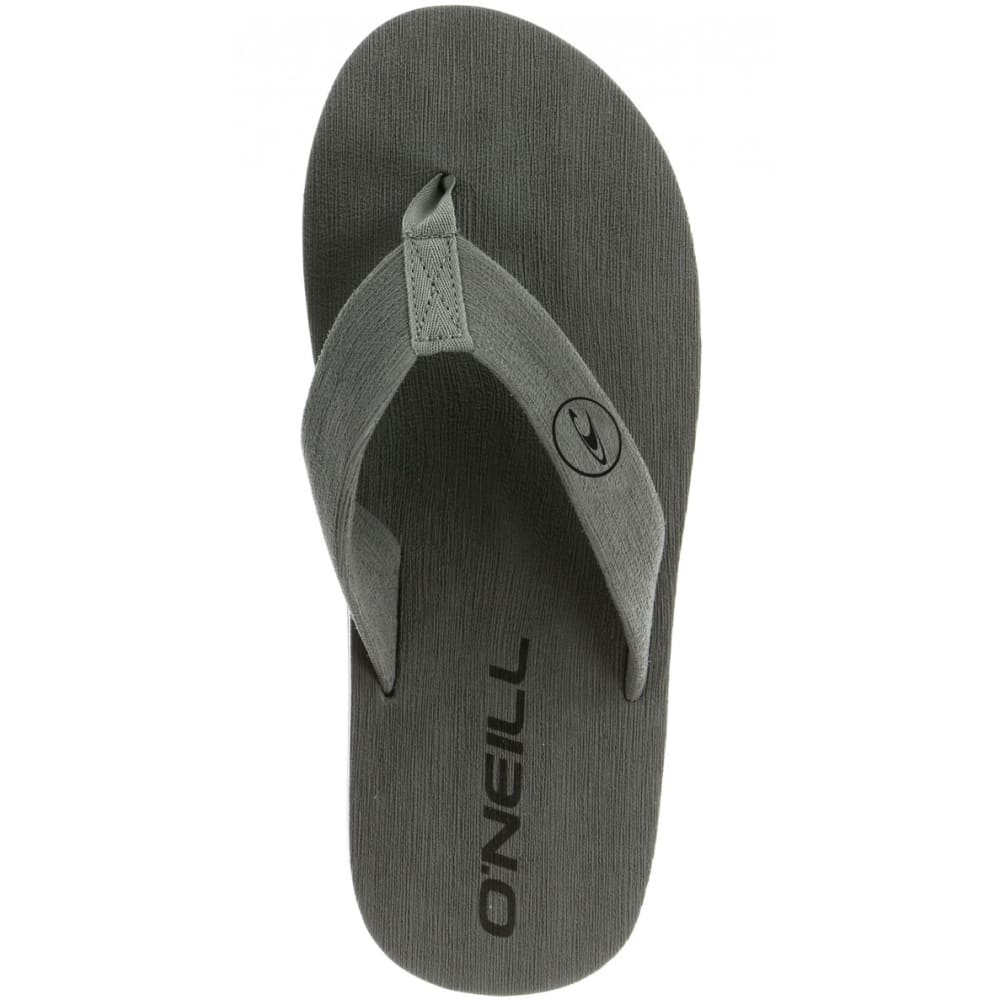 O'NEILL Guys' Phluff Daddy Thong Sandals - GREY