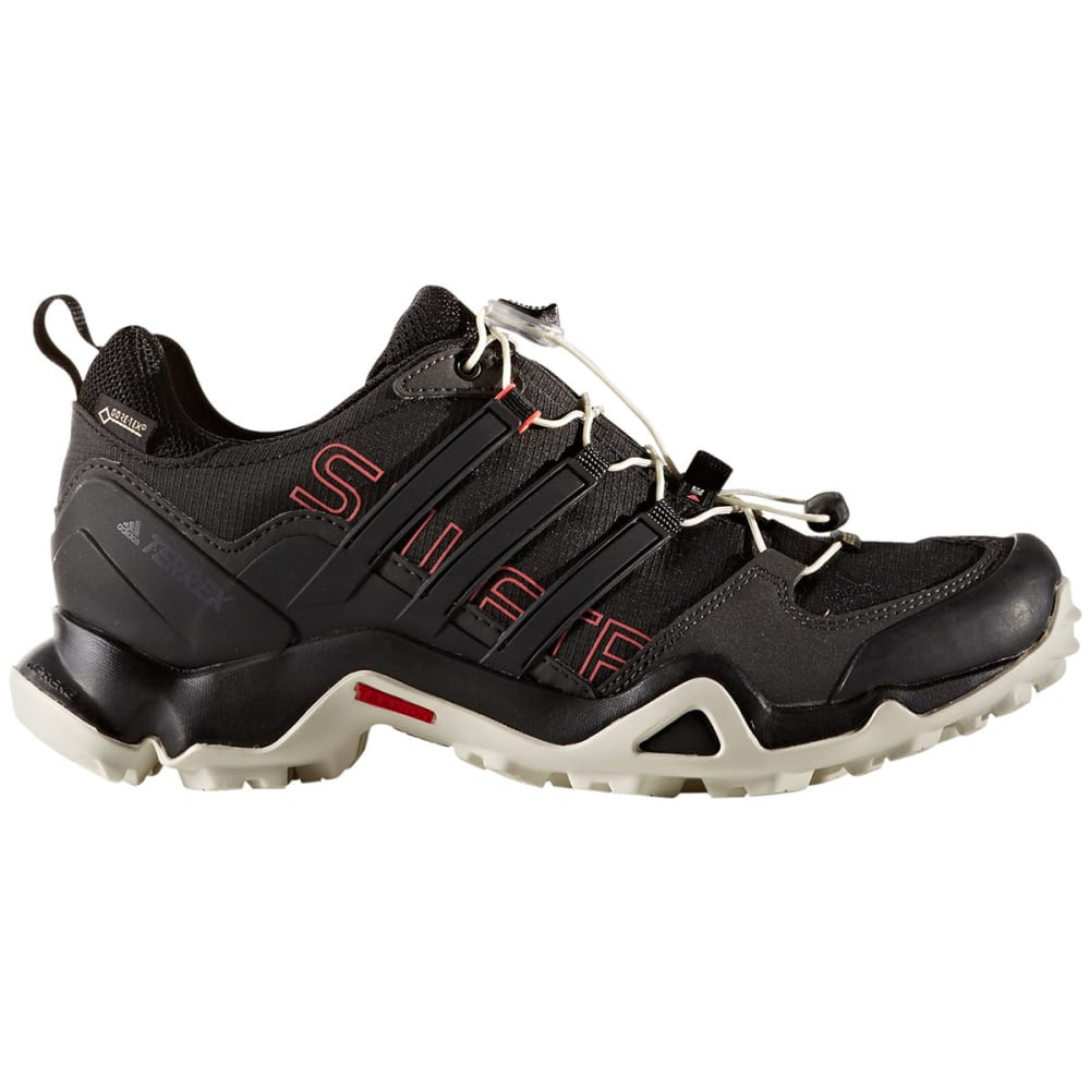 ADIDAS Women's Terrex Swift R GTX Hiking Shoes, Black/Pink - BLACK/PINK