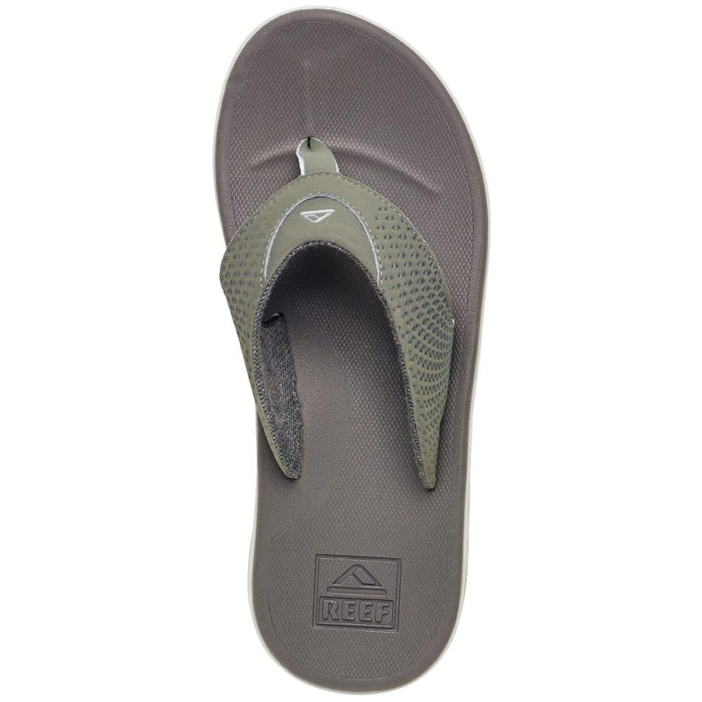 REEF Men's Rover Sandals, Grey - GREY