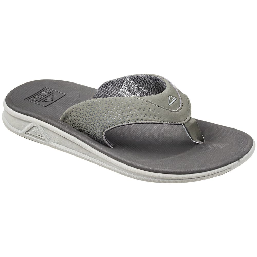 REEF Men's Rover Sandals, Grey 8