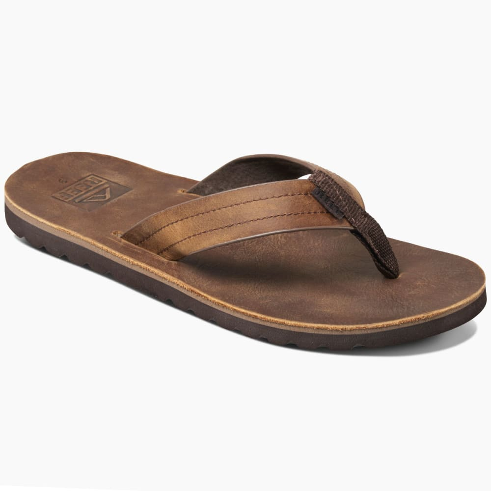 REEF Men's Voyage LE Sandals, Dark Brown 8