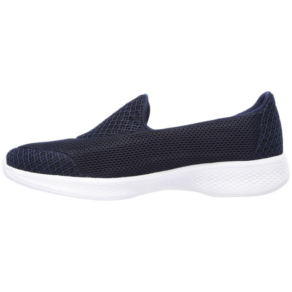 SKECHERS Women's Go Walk 4 - Propel Shoes, Navy - NAVY