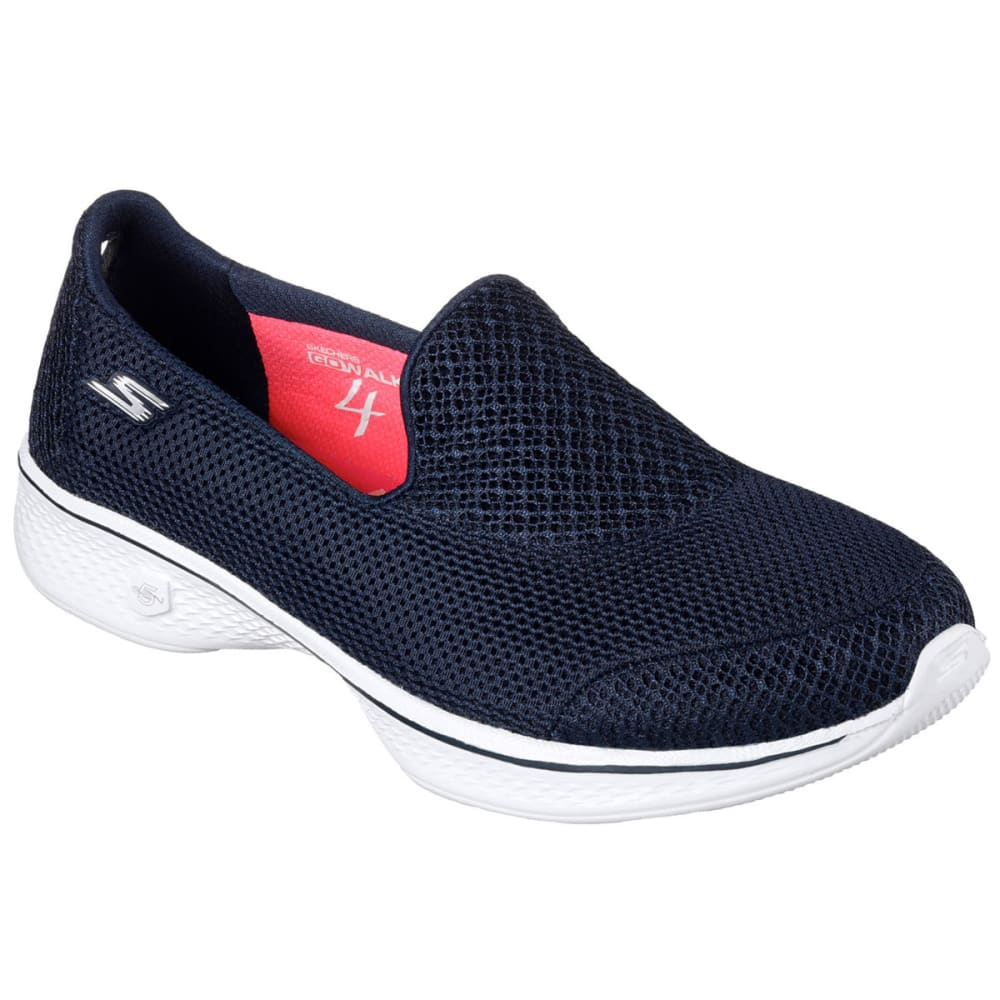 SKECHERS Women's Go Walk 4 – Propel Shoes, Navy - NAVY