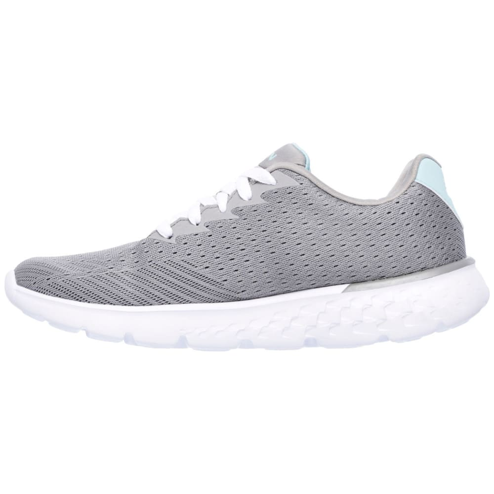 SKECHERS Women's Go Run 400 Sneakers - GREY/BLUE