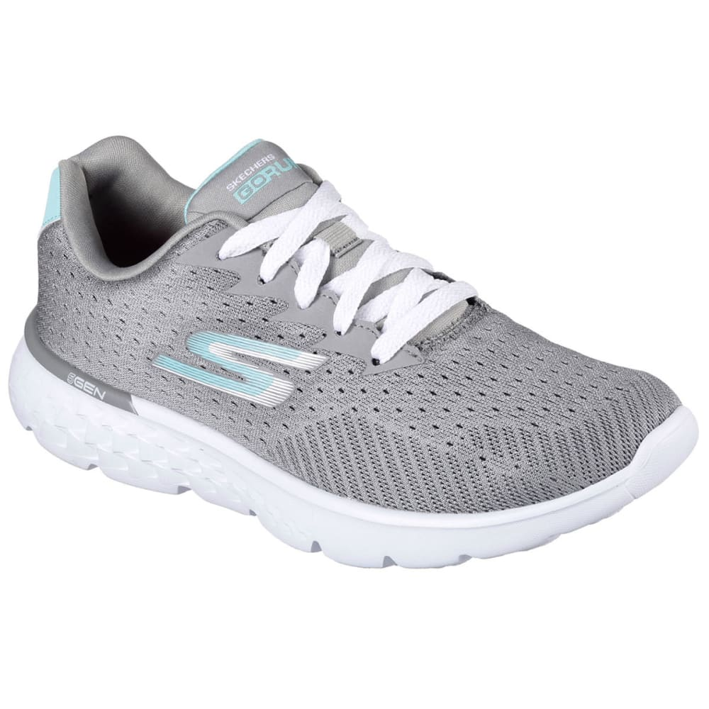 SKECHERS Women's Go Run 400 Sneakers - GREY/BLUE