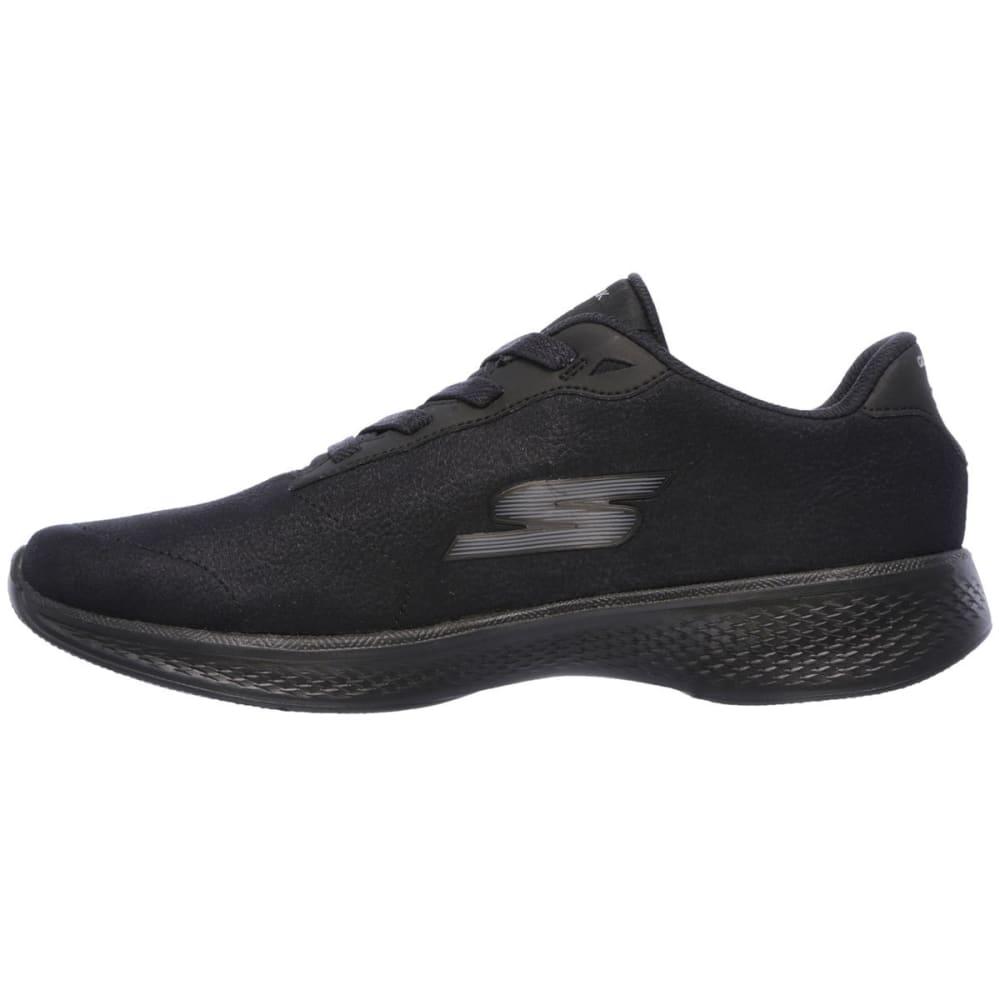 SKECHERS Women's Go Walk 4 – Premier Walking Shoes, Black - BLACK