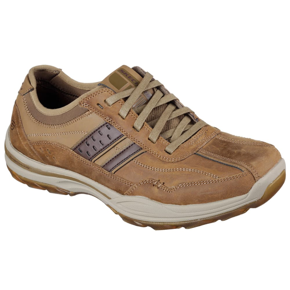 SKECHERS Men's Meron Modern Fusion Shoes - BROWN
