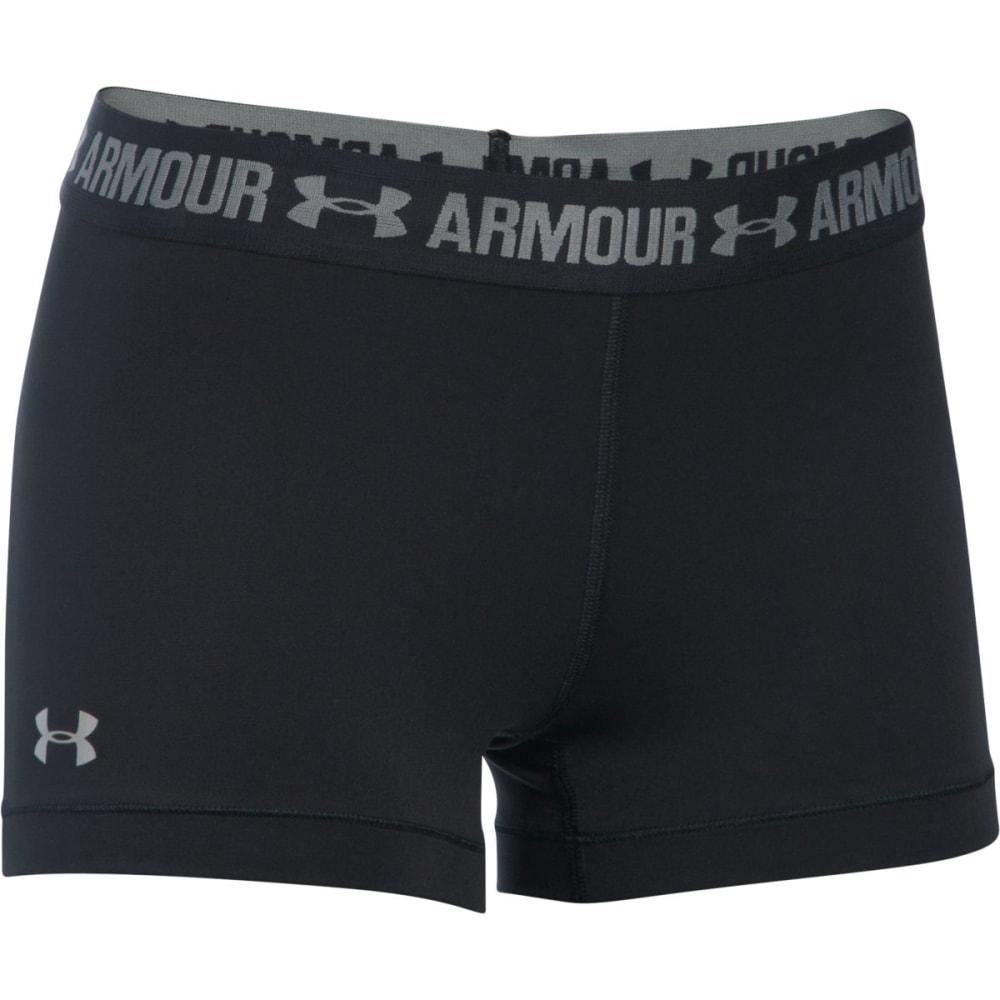 UNDER ARMOUR Women's 3 in. HeatGear Armour Shorts - BLACK-001