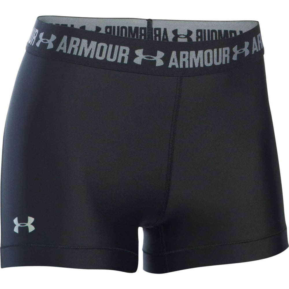 UNDER ARMOUR Women's 3 in. HeatGear Armour Shorts XS