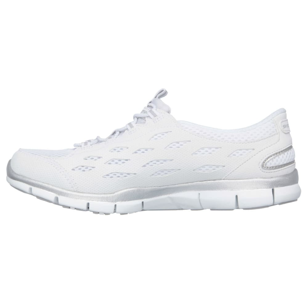 SKECHERS Women's Gratis – Going Places Shoes - WHITE - MED