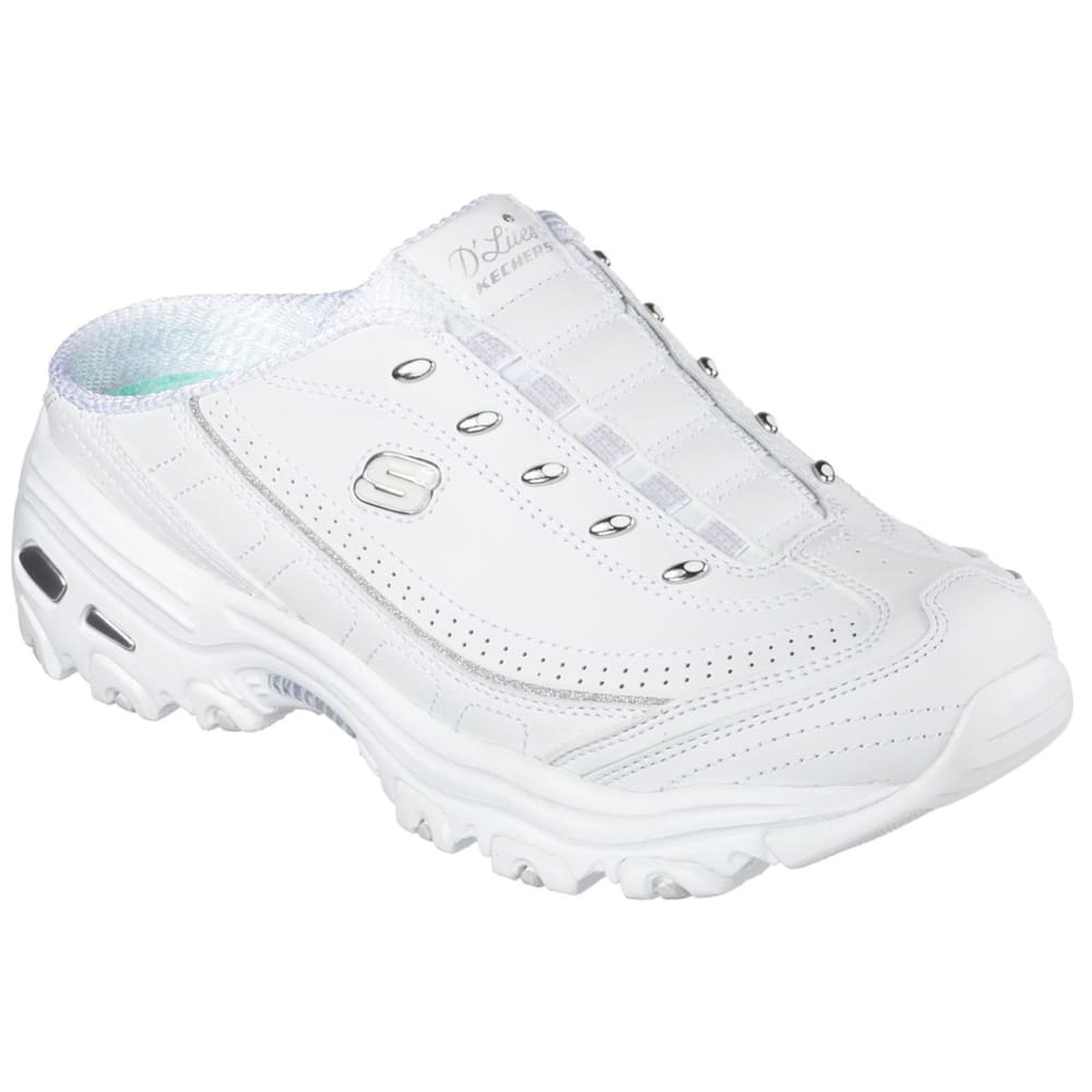 SKECHERS Women's D'Lites - Bright Sky Sneaker Clogs - SKY