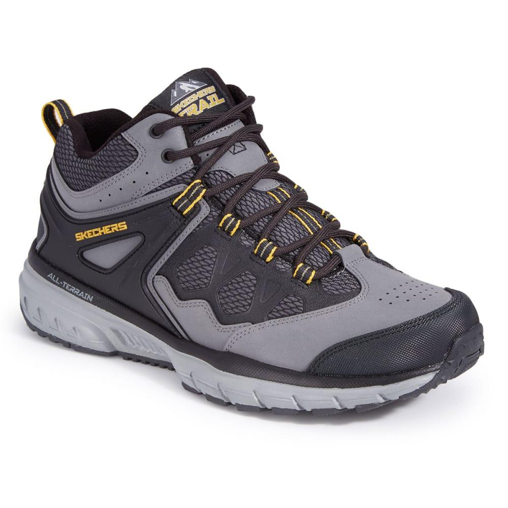 SKECHERS Men's Geo-Trek – Sequencer Sneakers - CHARCOAL/BLACK
