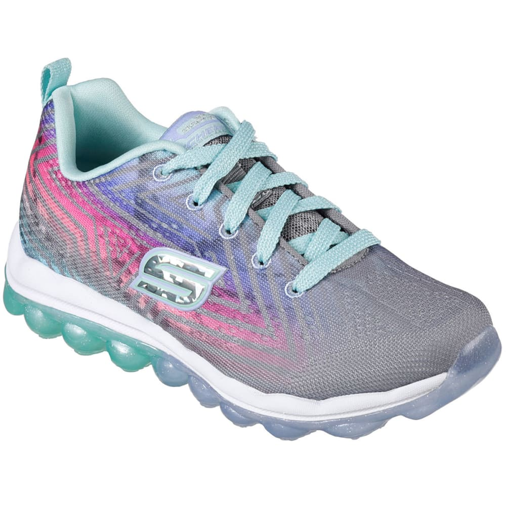 SKECHERS Girls' Skech-Air – Jumparound Shoes - GREY