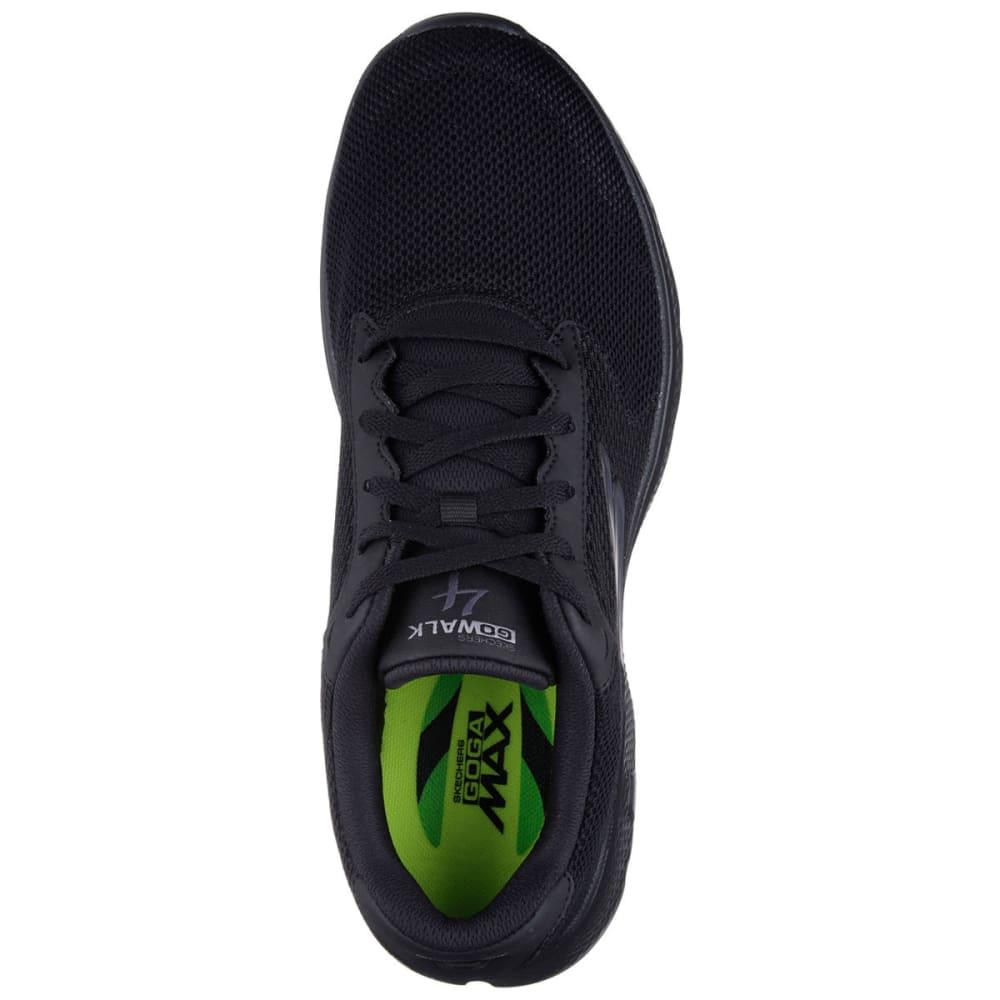 SKECHERS Men's GOwalk 4 Sneakers - BLACK