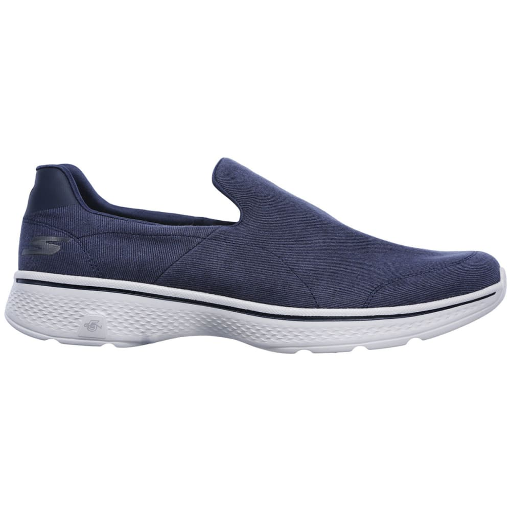 SKECHERS Men's GOwalk 4 -  Magnificent Slip-On Casual Shoes, Navy - NAVY