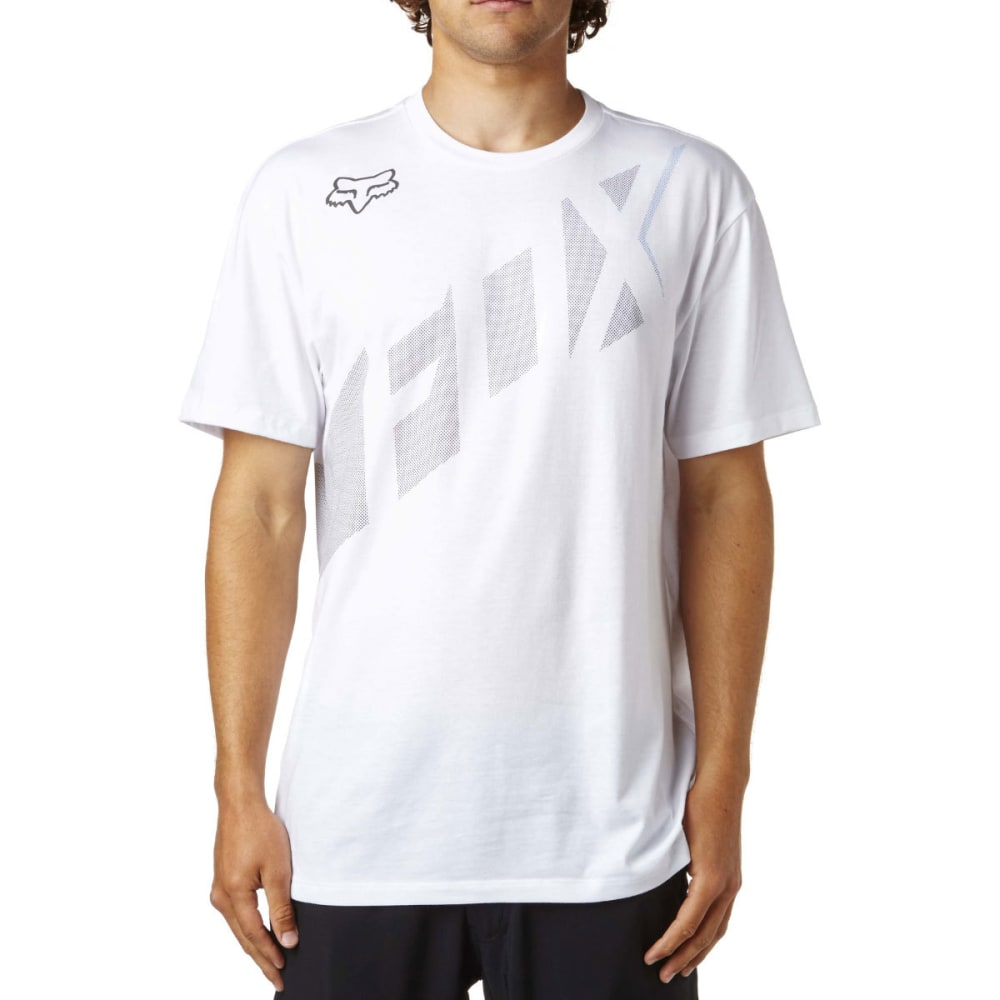 FOX RACING Guys' Seca Wrap Short-Sleeve Tee - 190-OPTIC WHITE