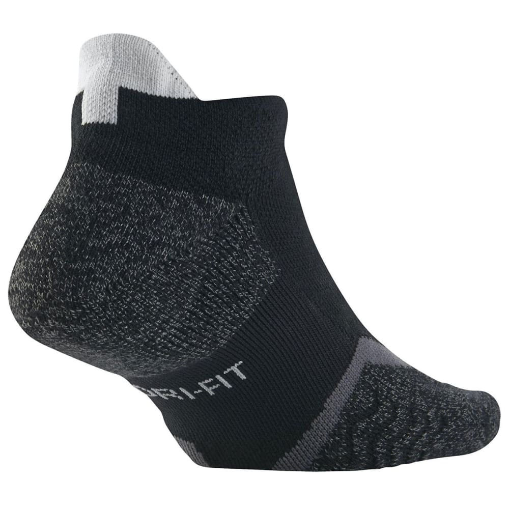 NIKE Men's Elite No Show Tennis Socks - BLACK-010