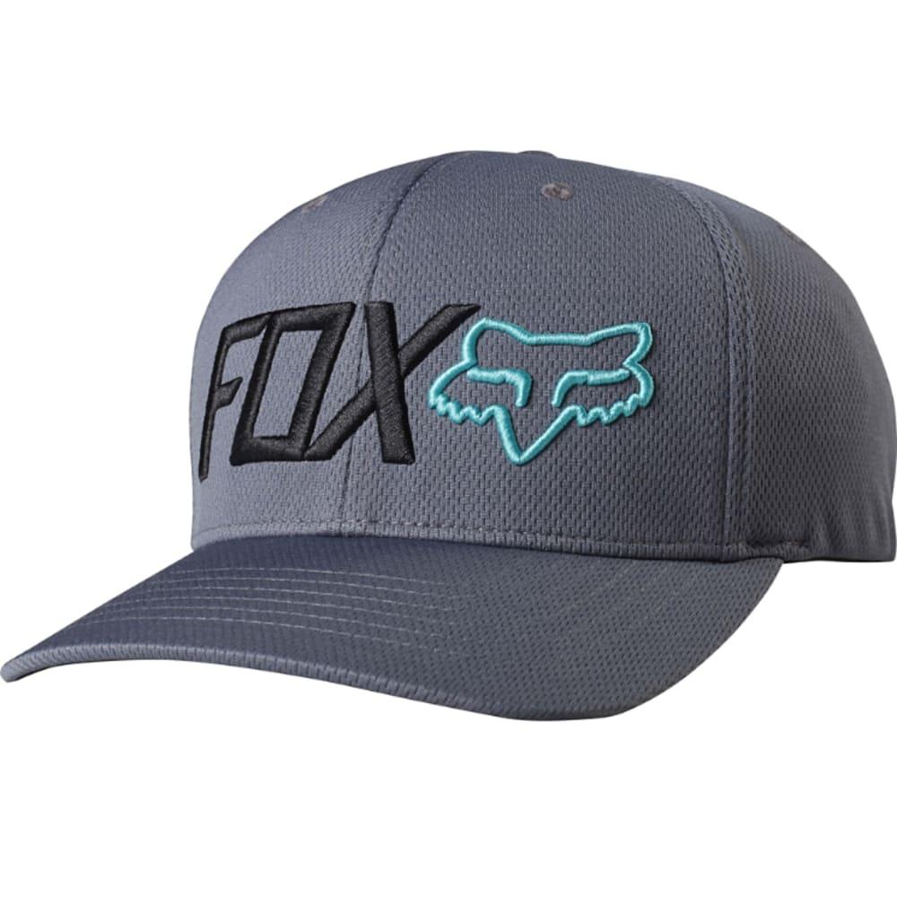 FOX Guys' Trenches Flexfit Hat - 103-GRAPHITE