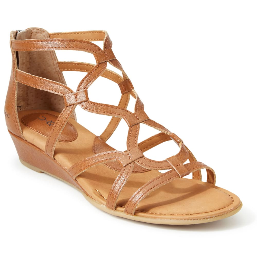 B.O.C. Women's Pawel Demi-Wedge Sandals - SADDLE
