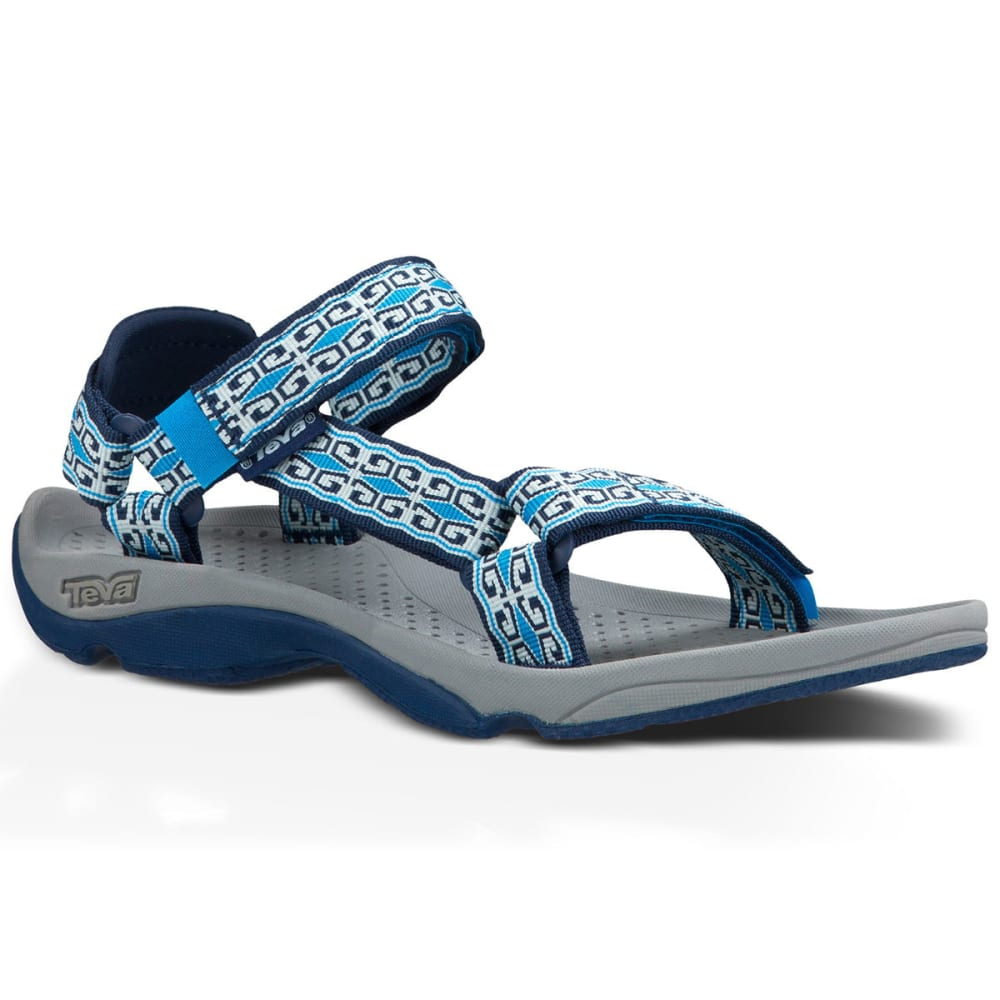 TEVA Women's Hurricane 3 Sandals, Mini Denim Blue - DENIM BLUE