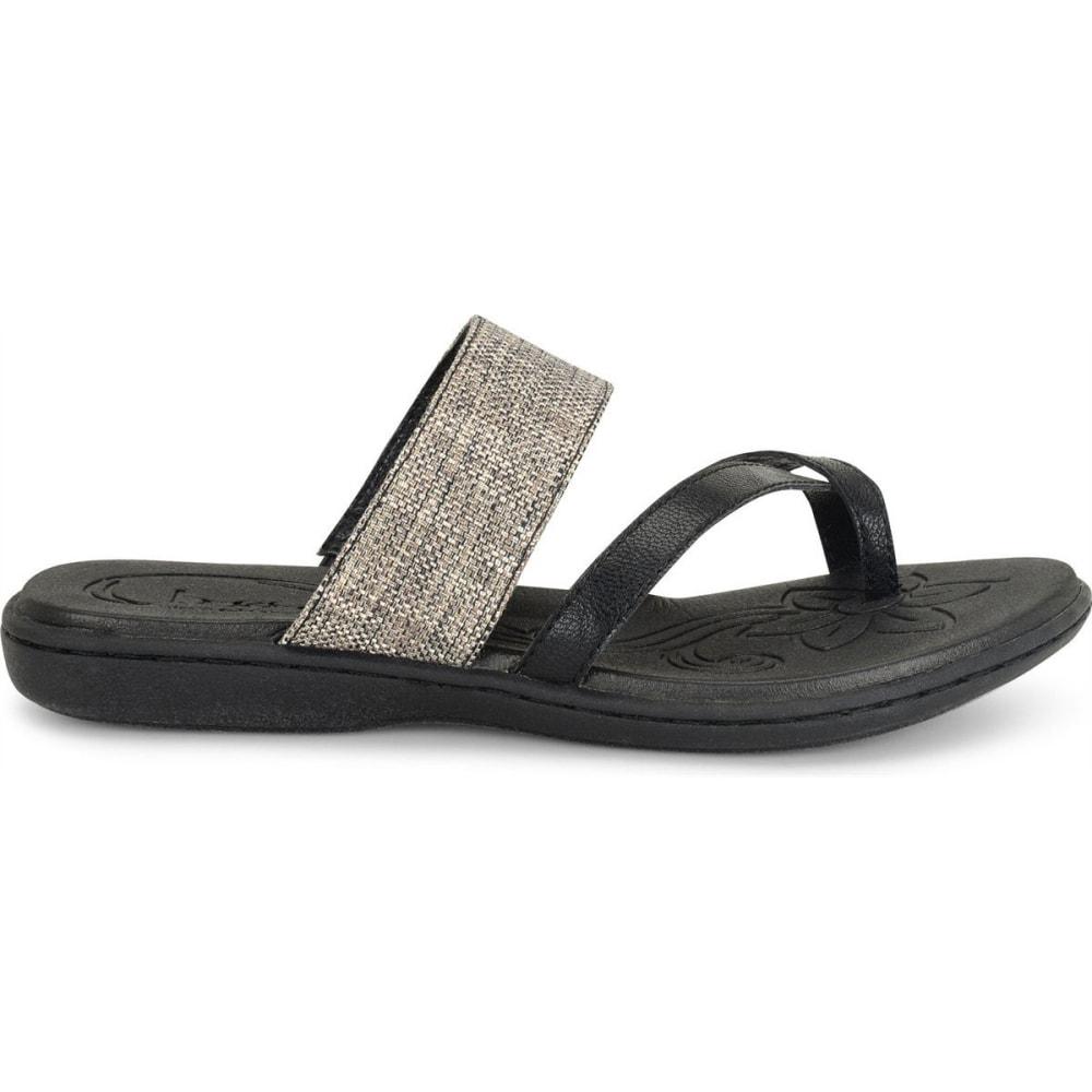 BOC Women's Gould Sandals, Black Weave - BLACK