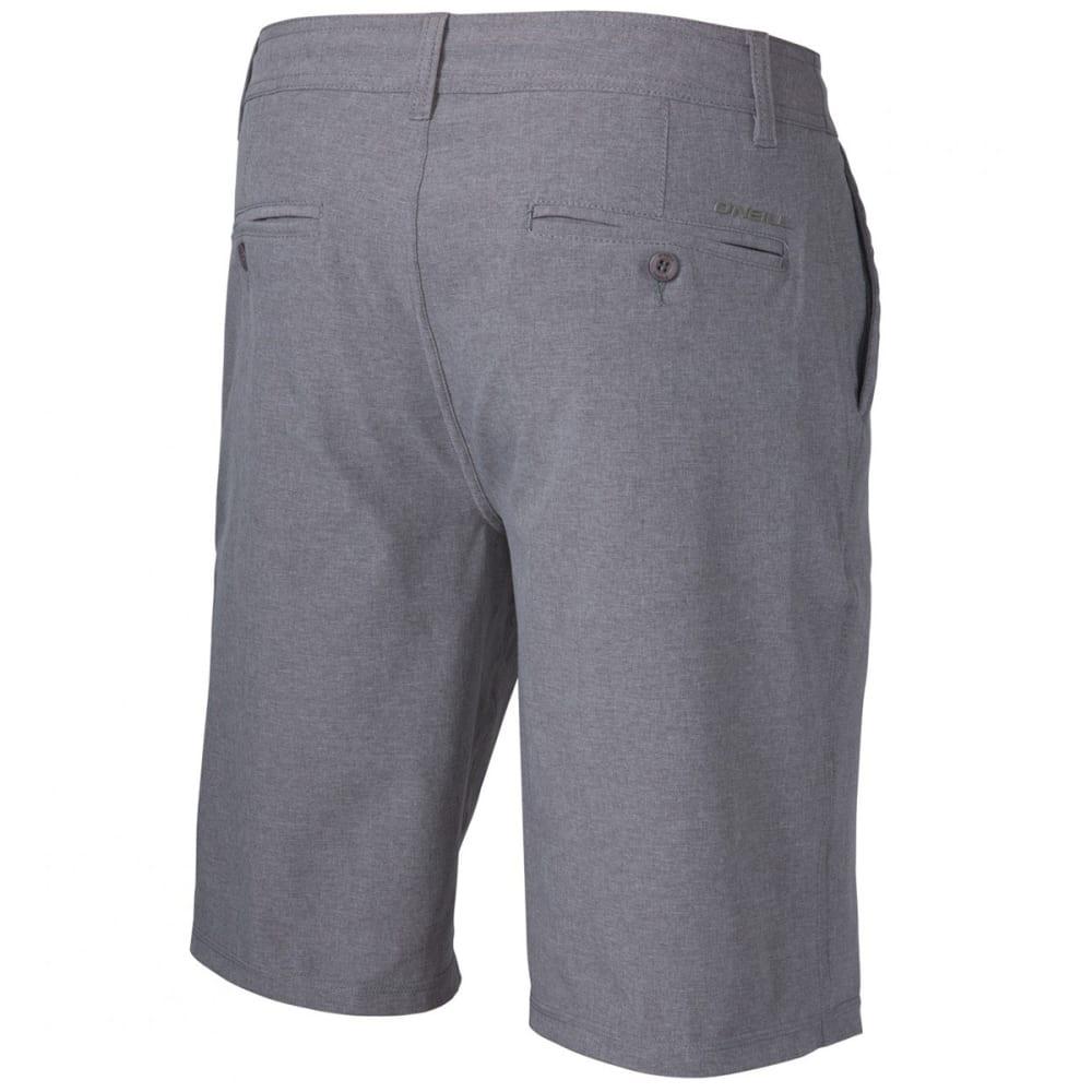 O'NEILL Men's Loaded Heather Hybrid Shorts - HTR GREY-HTR