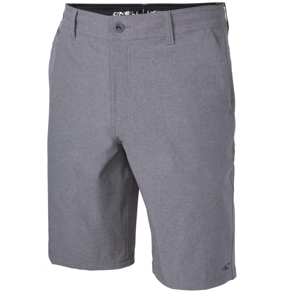 O'NEILL Boys' Loaded Heather Hybrid Shorts - HGR-HTR GREY