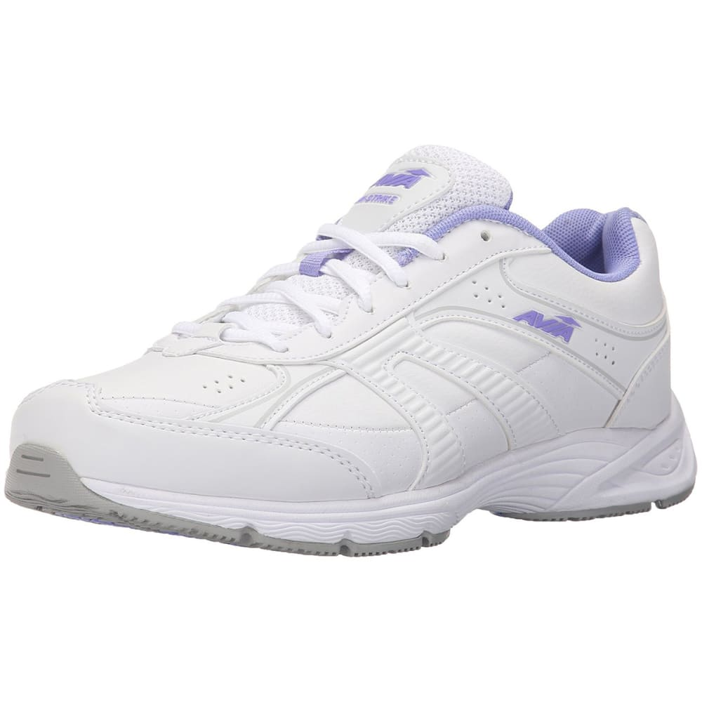 AVIA Women's Avi-Strike Sneakers, Wide - WHITE
