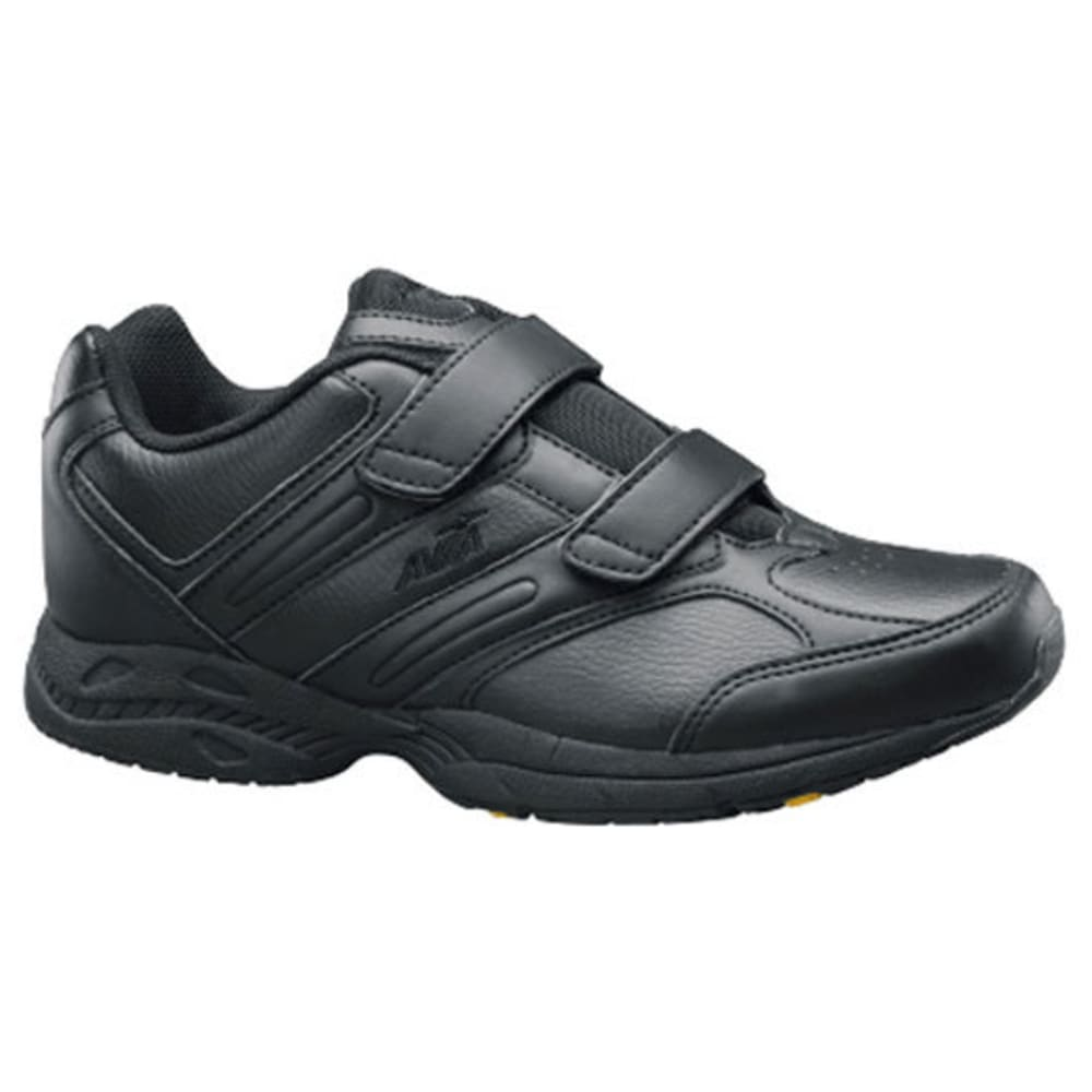 AVIA Women's A344W Velcro Walking Shoes - BLACK